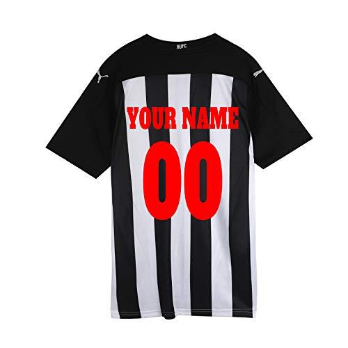 Camiseta de fútbol de encargo de la ropa del ventilador diseña su propio nombre para el regalo adulto de los hombres