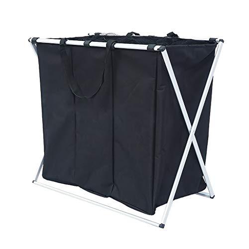 Wasmand Drie Hamper Extra Grote Badkamer Oxford Vouwen Opslag Kleding Gescheiden Classificatie Draagbaar Compact