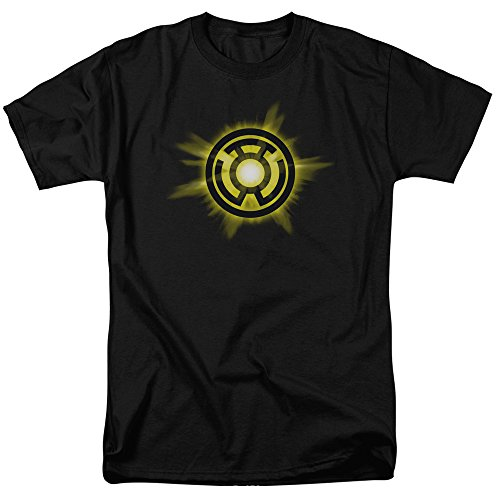 Green Lantern Yellow Glow T Shirt Size Xxl