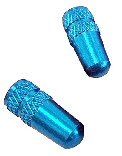 ALLIGATOR(アリゲーター) NC-FR バルブキャップ 仏式 ブルー(BL)