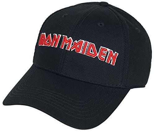 Unbekannt Iron Maiden Logo - Baseball Cap Cap schwarz