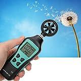 Anemómetro de mano Medidor de velocidad del viento FY856 Sistemas de aire acondicionado para operaciones marinas Monitoreo ambiental de la industria de la aviación