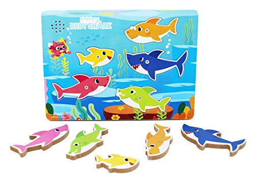 Spin Master Games 6054918 - Baby Shark Sound-Puzzle