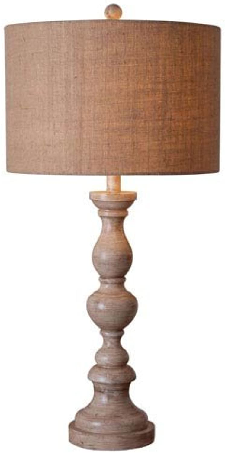 Kenroy Home 32236TA Bennett Table Lamp, Toasted Almond Finish