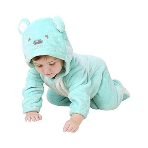 Teddy-Kostüm niedliche Verkleidung mit witzigen Details, Kapuze mit Bären-?hrchen, Teddy-Gesicht, praktischer Ganzkörper-Reißverschluss