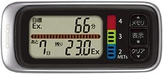オムロン(OMRON) 歩数計 Walking style HJ-302-S シルバー