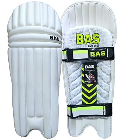 S4C Fashion BAS Bow 20 Moulded Cricket Mens favorite Right Hand Pads Batting
