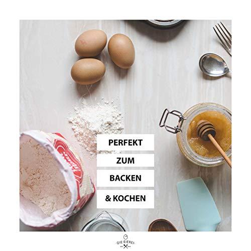 PROTEINVITAL Pures Hühner Eiweisspulver 100% natürlich aus Österreich 1000g Bodenhaltung – Neutral & ohne Kohlenhydrate – Proteinpulver zum backen kochen aufschlagen oder als shake zusatz – Laktosefrei Glutenfrei Fettfrei Süßstofffrei - 4