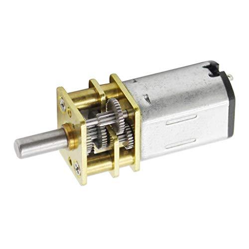 SDENSHI Micromotor de Engranaje Reductor de Velocidades Eléctricas CC con Rueda Dentada...