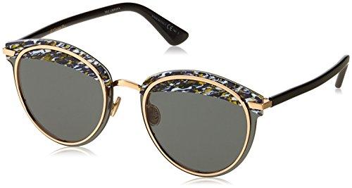 Dior Damen DIOROFFSET1 2K 9N7 Sonnenbrille, Blau (Bluette Black/Grey Ar), 62