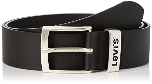 LEVIS FOOTWEAR AND ACCESSORIES New Ashland Cintura, Nero (Noir Regular Black), 110 Uomo