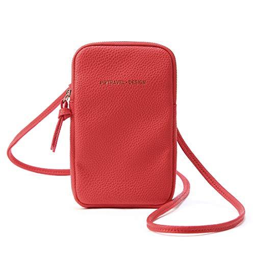 Bolsas de teléfono Bolsos Bandolera Mujer Bolso Hombro para Viaje Monedero Bolsa de Tarjeta bancaria Crossbody Bag Mini