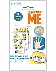 Craze 57675 Disney Pixar bilar 3 Tattoo Megaset 3 ark tatueringar för barn självhäftande tatueringar 57676, barntatuering
