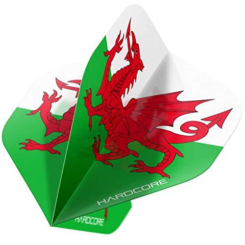 Red Dragon Hardcore XT Country Flag Dartflügel, Wales