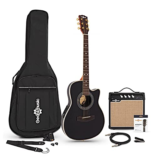 Set de Guitarra Electroacústica Roundback