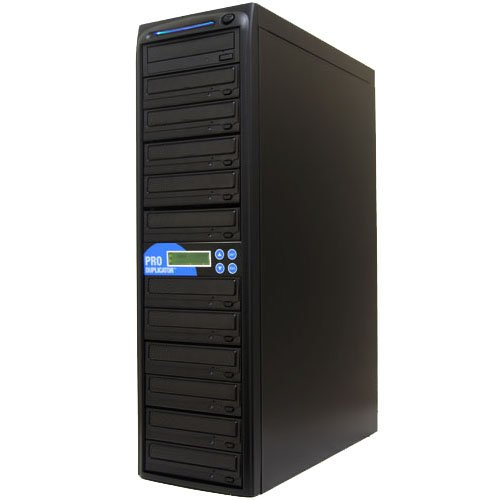 Produplicator 1 to 11 LG 24x Writer CD DVD Duplicator - Standalone Duplication Copy Tower