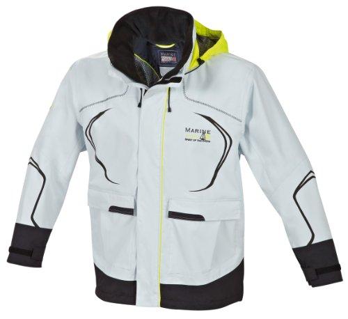 Marinepool Erwachsene Sailingwear-MenCabra Jacket, Icegrey/Black, XL
