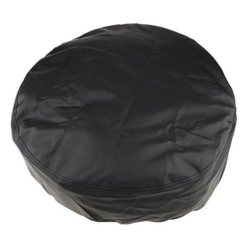 Universal Cubierta de Llanta de Coche Funda de Neumático Trasera de Protección de Rueda para Vehículos - Negro 13
