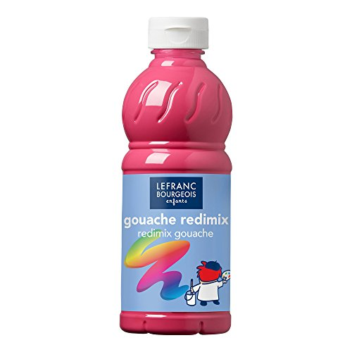 Gouache Redimix Color and Co-, Tyrischrosa, Tempera Kinderfarbe - 500ml