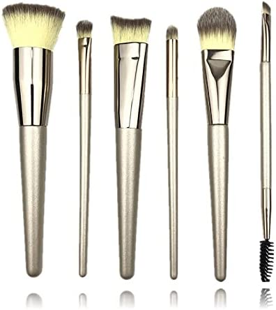 Make Up Brushes Handle 6 Makeup Give Egg Brush New arrival Special Campaign Puff Set A