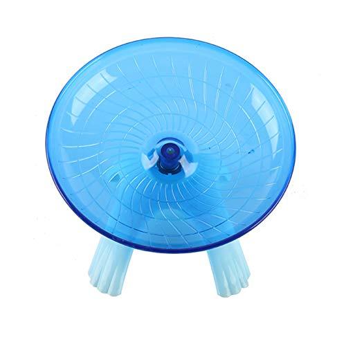 Proglam Pet Toy Disco de hámster para Correr para Mascotas, platillo Volador, Rueda Deportiva