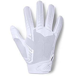 Under Armour boys F6 Youth Football Gloves White (100)/White Youth Large (B0716ZGYY3) | Amazon price tracker / tracking, Amazon price history charts, Amazon price watches, Amazon price drop alerts