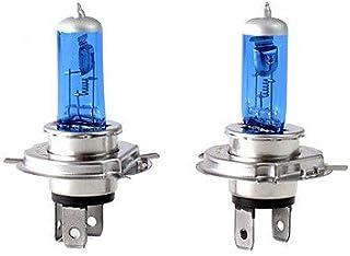 2x Stück * 24V * H4 Xenon Optik GAS Halogen Lampen TRUCK für LKW BUS Super White Birnen Autolampen 75W 100% Zugelassen im Bereich der StVZO
