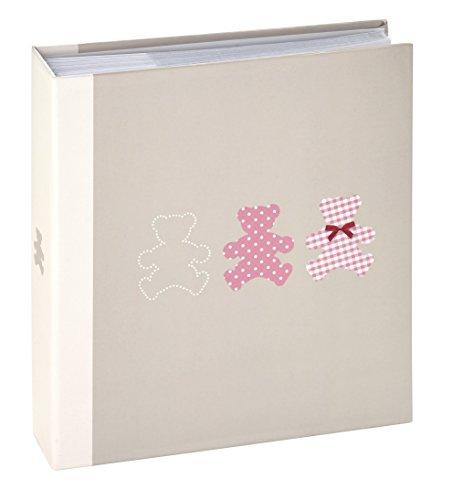 Ceanothe 271224 Timotee Album Photos Bébé avec 200 Vues Papier Gris 11,5 x 15 cm