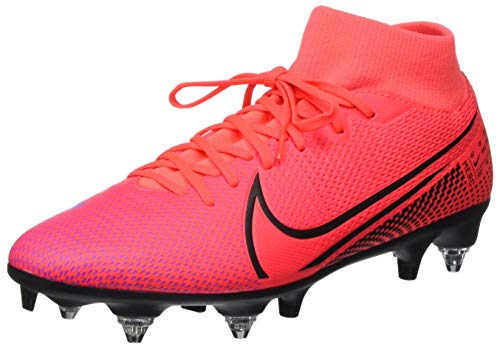 Nike Herren Superfly 7 Academy SG-PRO AC Fußballschuh, Crimson/Black-Laser CRIM, 40.5 EU