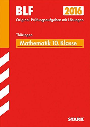 STARK Besondere Leistungsfeststellung Thüringen - Mathematik 10. Klasse