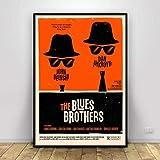 Jryuplzs Leinwand Gemälde Blues Brothers Poster Geschenk