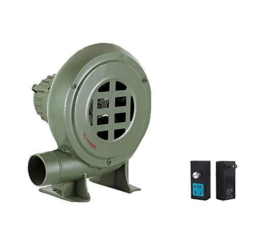 Soplador De Barbacoa De Hierro Fundido De 220 V, Con Transformador De Regulación De Velocidad Adecuado Para Acampar Al Aire Libre Barbacoa Ventilador De Apoyo A La Combustión Ventilador De Bomba,150W