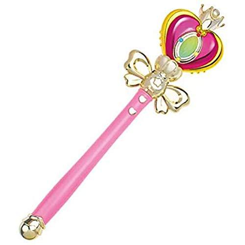 Cestbon Sailor Moon Bacchetta Bacchetta Stella Moon Light Musica Giocattoli per Bambini e Le Bambine Regalo,Rosa