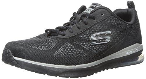 Skechers Herren Skech-Air Infinity Low-Top Sneakers, Schwarz, 41 EU