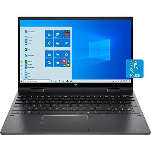 "HP Envy x360 2-in-1 Touchscreen Laptop, 15.6"" IPS FHD, Ryzen 5-4500U 6-Core up to 4.00 GHz, 32GB RAM, 256GB SSD, USB-C/DP, HDMI 2.0, Backlit KB, FP Reader, WebCam, Win 10, US Version"