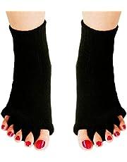 Vijf kniekousen hallux valgus Correctieligging Ectropion tenen sokken Correctie Bunion Corrector