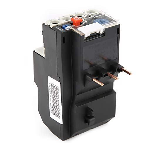 Relè di sovraccarico termico automatico, tensione di isolamento 50-60 Hz Supporto relè di sovraccarico protezione interruzione di fase con custodia in plastica