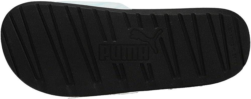 PUMA Womens Cool Cat Pastel Tie Dye Slide Sandals Sneakers Shoes Casual - Black