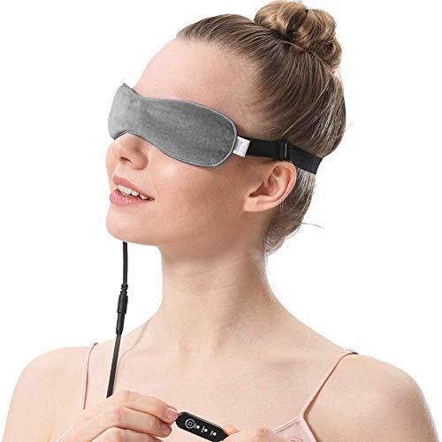 Tragbare Auge Massager, Leinöl Feuchtigkeitscreme, Beheizte Maske, Wärme Therapie, Die Drüsen, zu lindern Trockene Auge, Und Blepharitis