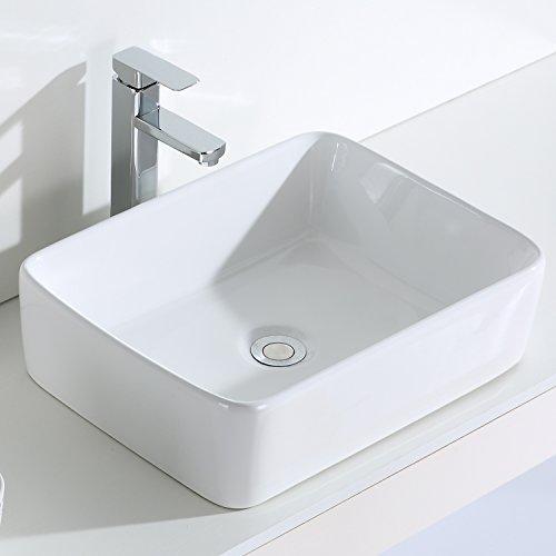 Eridanus, Serie Rufus, Design Waschbecken, Aufsatzwaschbecken, Handwaschbecken für Bad