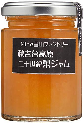 Mine里山ファクトリー 秋吉台高原二十世紀梨ジャム 120ml