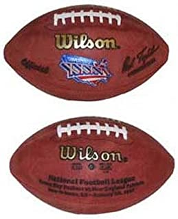 Wilson Super Bowl XXXVI Official Game Football New England Patriots vs. St. Louis Rams