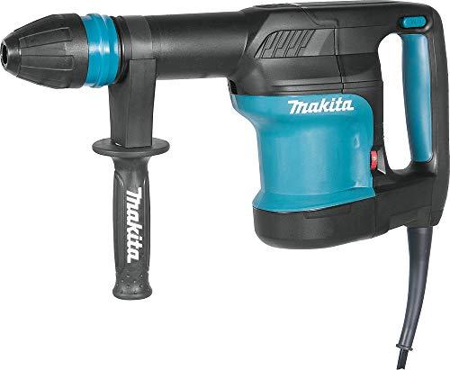 Makita HM0870C Martillo Demoledor Sds Max 1100W 5.1 Kg, 1100 W, 240 V, Azul, 0
