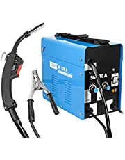 Güde 20071 Vuldraad-lasapparaat SG 130 A (koelventilator, thermische overbelastingsbeveiliging, massakabel met massaklemme)