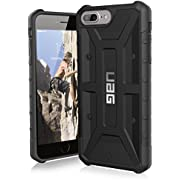 URBAN ARMOR GEAR UAG iPhone 8 Plus/iPhone 7 Plus/iPhone 6s Plus [5.5-inch Screen] Pathfinder Feather-Light Rugged [Black] Military Drop Tested iPhone Case