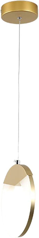 LED 8w Pendelleuchte, Nordeuropa Hngeleuchte Header Moderne Indoor Acryl Lüster deckenleuchte Restaurant Corridoio Gang-12x20cm Dreifarbiges Licht