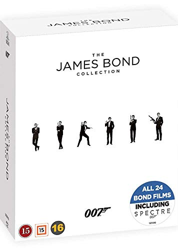 James Bond Collection - 24-Disc Box Set ( Spectre/ Skyfall / Quantum of Solace / Casino Royale / Die Another Day / The World Is Not Enough / [ Origen Danés, Ningun Idioma Espanol ] (Blu-Ray)