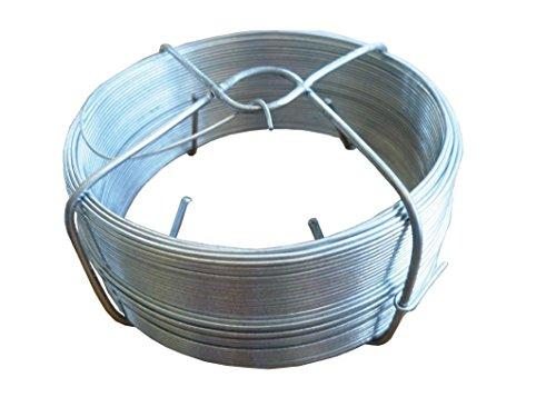 Alambre 1.8 mm / 500 gr / 25m Acero galvanizado bobina
