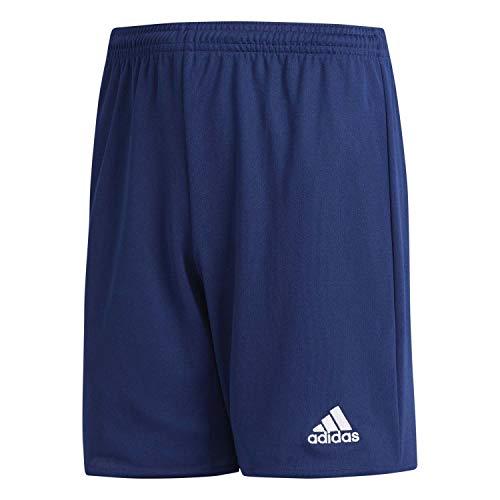 adidas Parma 16 Shorts Short Mixte Enfant Bleu (Dark Blue/White), XL (Taille Fabricant: 164)
