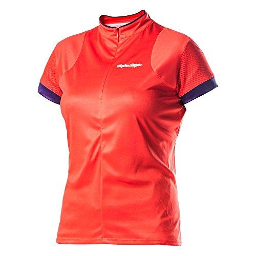 Troy Lee Designs Damen Jersey Ace – Coral, X-Large